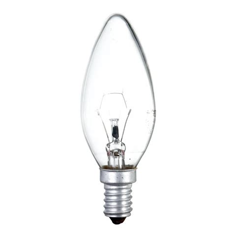 small light bulbs 40 watt ses e14 small edison candle light bulb clear