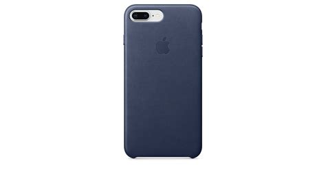 iphone     leather case midnight blue apple sg
