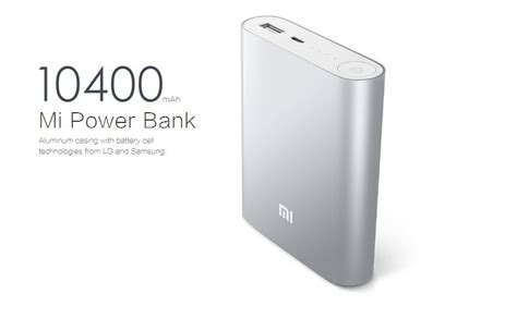 Power Bank Mi Lazada mi power bank 10400mah silver with free silicon