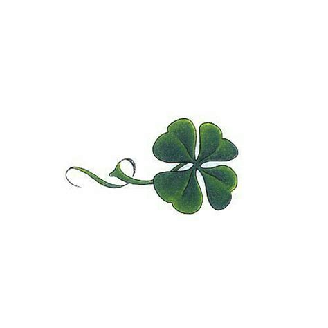 four leaf clover tattoo meaning clover tats tatoo and tatting