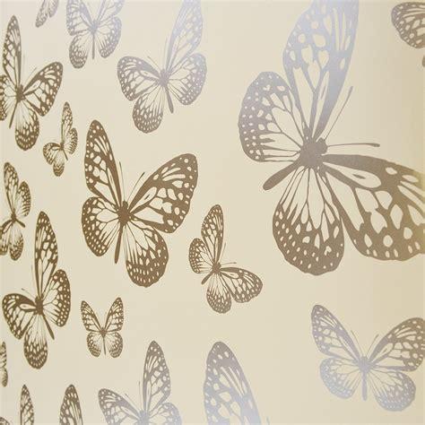 wallpaper gold butterfly i love wallpaper butterfly shimmer wallpaper metallic gold