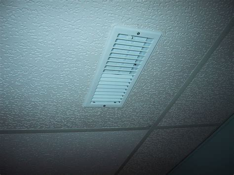 drop ceiling vent cover installation part 2 butterfly