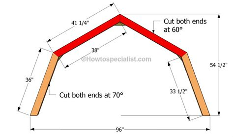 gambrel roof design how to build a gambrel roof shed howtospecialist how