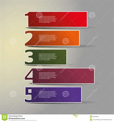design a header header or banner design numbers royalty free stock