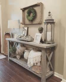 Rustic Farmhouse Decor by Best 25 Foyer Table Decor Ideas On Console