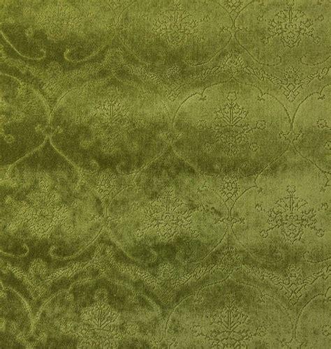 Green Velvet Fabric For Upholstery by Scalamandre Pennsbury Moss Green Linen Velvet Upholstery