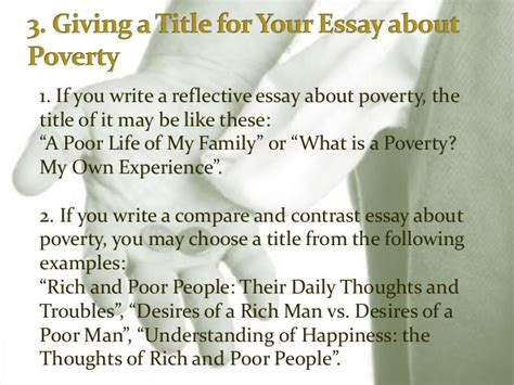Poverty Cause And Effect Essay by Poverty Essay