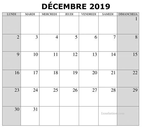 calendrier  decembre avec notes calendar