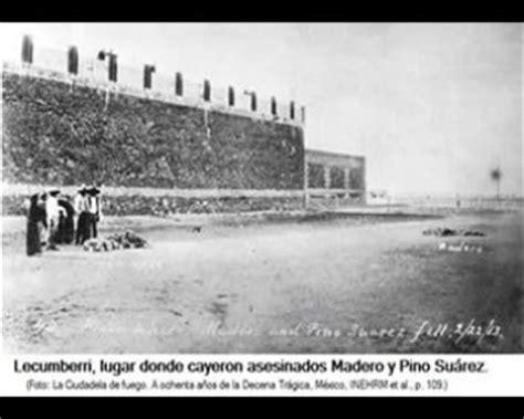 22 de febrero de 1913 asesinato de don francisco i madero y de muerte de francisco i madero y jos 233 mar 237 a pino su 225 rez