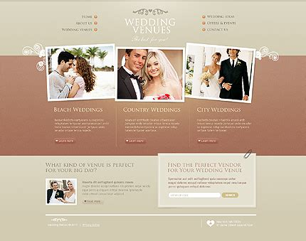 Wedding Website Template Learnhowtoloseweight Net Marriage Website Templates Free