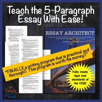 Teaching The Five Paragraph Essay by Essay Writing Bundle Get All Students Writing A 5 Paragraph Essay With Ease
