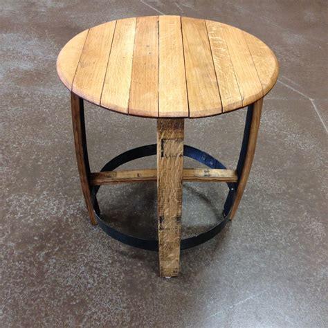 Barrel Side Table by Bourbon Barrel Side Table Barrelheadsky