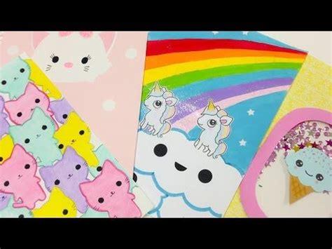 videos de como decorar libretas ideas para decorar tus libretas para el regreso clases