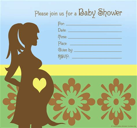 When Baby Shower by 20 Printable Baby Shower Invites 1st Birthday Invitations