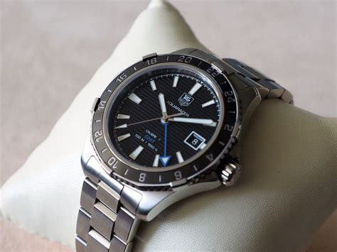 In Depth Review  TAG Heuer Aquaracer 500m Calibre 7 GMT   The Home of TAG Heuer Collectors