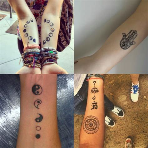 hippie tattoo hippie tattoos ideas and design