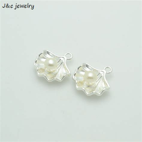 bulk for jewelry wholesale 100pcs fashion imitation pearls bright silver