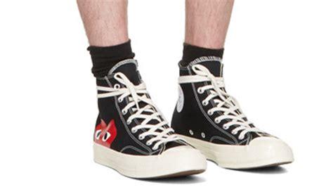 Converse X Cdg Play Ct 70 High Black comme des garcons play x converse chuck all 70