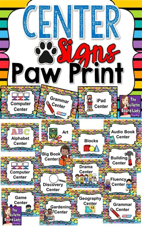 963 Best Images About Preschool Ideas On Pinterest First Paw Print Classroom Decorations