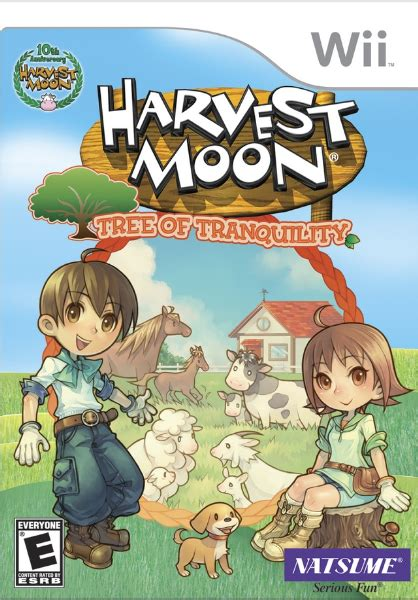 harvest moon game review harvest moon tree of tranquility 毎日アニメ夢