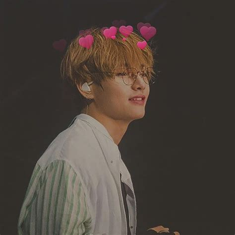 kim taehyung heart quot bts kim taehyung v with hearts quot by vliight redbubble