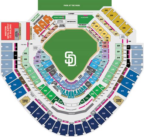 petco park 3d seat viewer petco park seating and pricing san diego padres