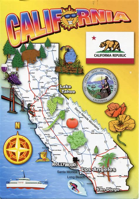 map of usa california usa california remembering letters and postcards