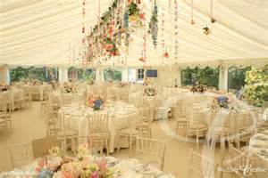 Crystal Chandelier Hall Venue Dressing At Wedding Marquee Wedding Creative