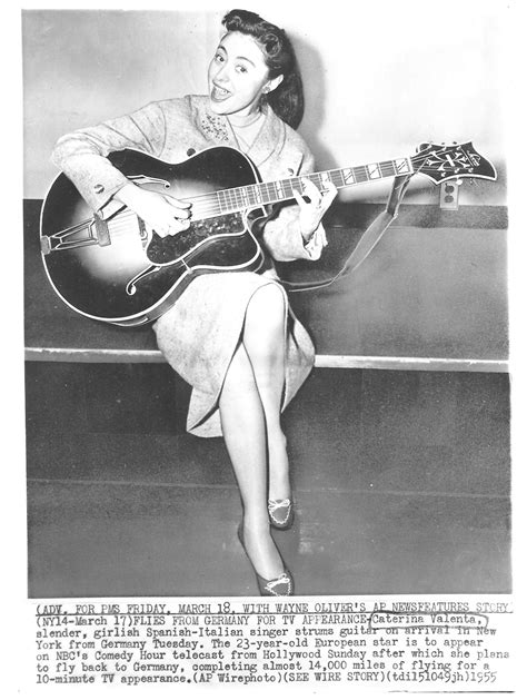 caterina valente jazz caterina valente vintage guitars pinterest guitars