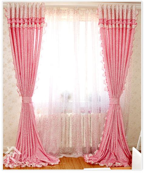 pink curtains for bedroom free shipping textiles bedroom curtains children s curtain