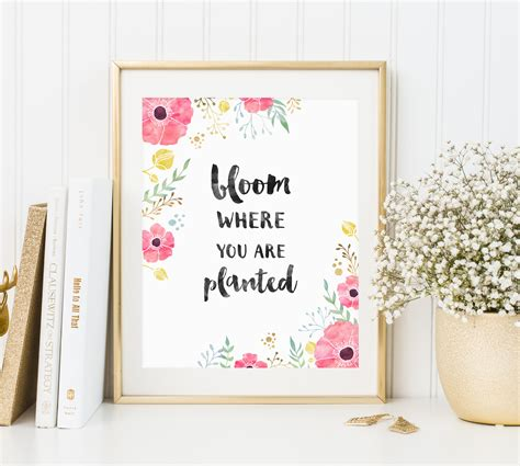 Desk That With You by Free Desktop Wallpaper Bloom Where You Are Planted