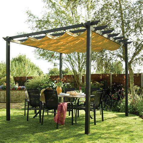 awnings and pergolas rowlinson latina aluminium framed canopy pergola