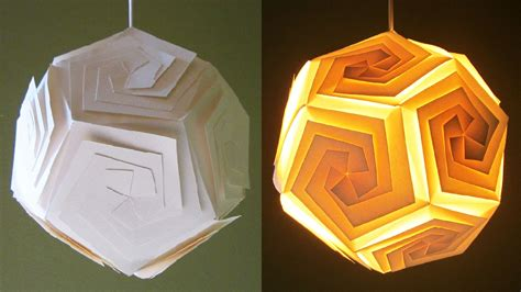 How To Make A Lshade Out Of Paper - diy pendant lshade lantern home and room decor