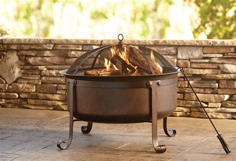 home depot firepits outdoor pits at the home depot