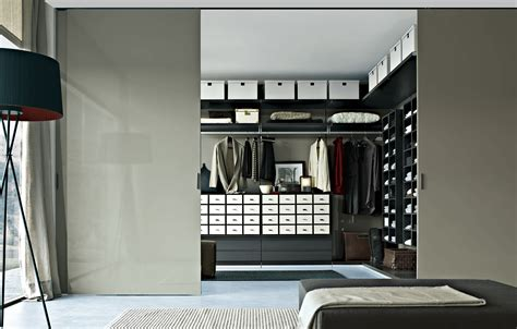 bedroom walk in closet with traditional and modern interior design for small house combined