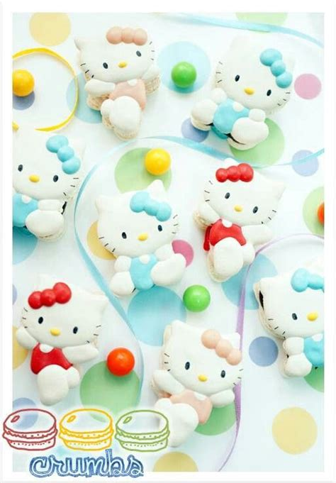 hello kitty macaron wallpaper 134 best crumbs by aleena macarons images on pinterest