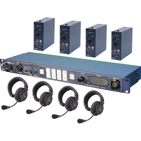 Harga Clearcom Wireless datavideo itc100hp1k itc 100 wired intercom system