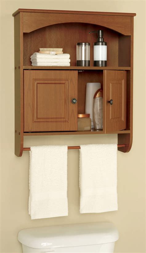 classic wall mounted lacquered oak wood bathroom cabinet