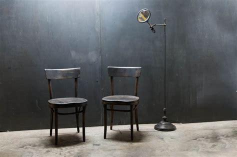 austrian thonet bentwood cafe chairs factory