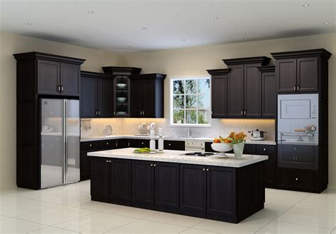 decorating ideas kitchen cabinets espresso with glass tile kitchen cabinets and bathroom cabinetry