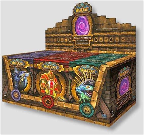 wow tcg chion deck world of warcraft tcg dungeon decks display box hill s