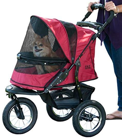 Rugged Stroller by Pet Gear No Zip Jogger Pet Stroller Zipperless Entry