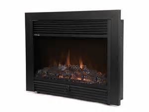 Electric Fireplace Heater Insert New 28 Quot Black Electric Fireplace Insert Room Heater Firebox W Remote Ebay