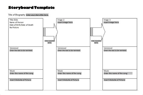 70 Storyboard Templates Free Word Pdf Ppt Documents Download Adobe Illustrator Storyboard Template