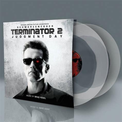 Cd Ost Original Sountrack Terminator 2 Judgement Day terminator 2 judgement day soundtrack coloured vinyl 2 lp for sale and instore mont albert no