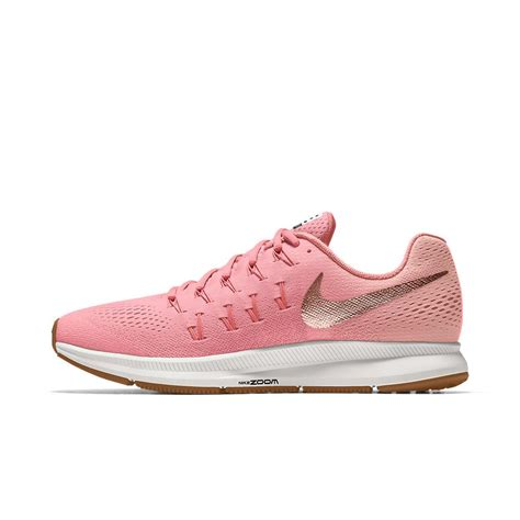 nike running shoes id nike air zoom pegasus 33 id s running shoe in pink