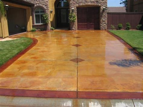 Stamped Concrete Sealing, Re Sealing & Color Restoration