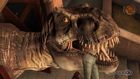 tyrannosaur izle jurassic park the game t rex wins gameplay video gamespot
