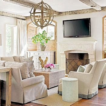 bhg living rooms fireplace seating cottage living room bhg