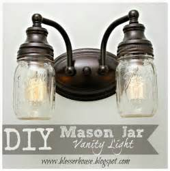 Jar Vanity Light by Earth Day 2016 1803 Candles 174